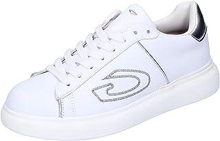 GUARDIANI Sneaker Donna Pelle Bianco