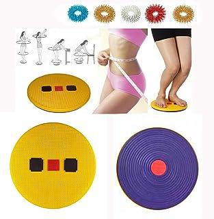 PerCare Acupressure Pyramid Magnetic Slim Twister Body Trimmer, Shaper, Spine Fitness + 5pcs Sujok Finger Massager Rings S...