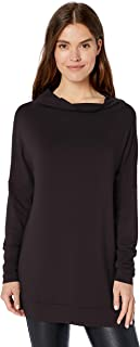 Amazon Brand - Daily Ritual Women's Supersoft Terry Modern Funnel-Neck Tunic