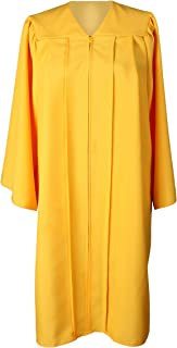 GradPlaza Unisex Adult Graduation Gown Economic Choir Robe Matte Gown Only