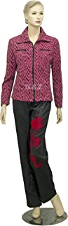 Women's Medium Violet Red Fashion Jackets (Spring/Fall) Size 1X