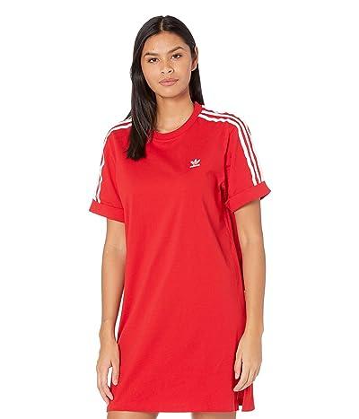 adidas Originals Classics Tee Dress (Scarlet) Women