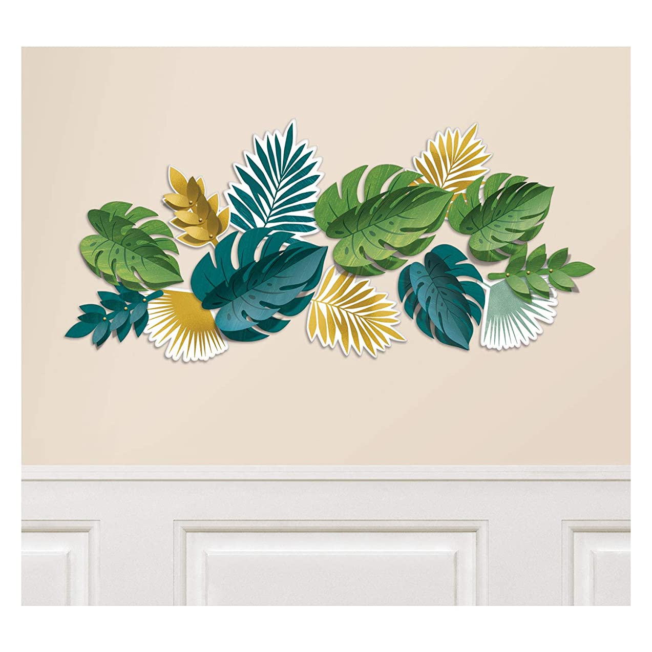 Amscan International Amscan 242623 Decoration Card Cut-Outs 1 Pack Key West