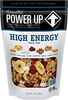 Power Up Trail Mix, High Energy Trail Mix, Keto-Friendly, Paleo-Friendly, Non-GMO, Vegan, GlutenFree, No Artificial Ingred...