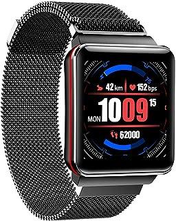 DLIBIG Smartwatch con Pulsometro Integrado,Impermeable IP67 Reloj Inteligente con Cronómetro, Monitor de sueño,Podómetro,Calendario,Pulsera Actividad para Android y iOS
