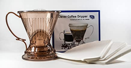 Clever Coffee Dripper- With Bonus Filters Included (Java)