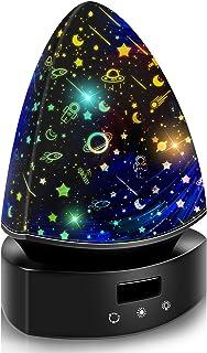 Moredig Proyector Infanti, Lámpara Proyector Infantil, Lámpara Proyector Infantil Luz Colorida LED, Rotación de 360 °, para Cumpleaños, Navidad, Boda, Decoración de Habitaciones