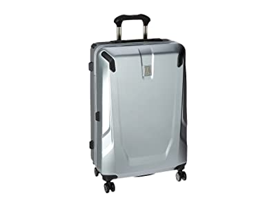 Travelpro Crew 11 Hardside 25 Spinner (Silver) Luggage