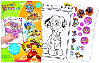 Crayola Paw Patrol Colour & Shapes Activity Book, For Kids