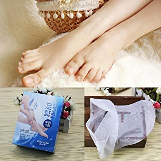 Roojer Feet Care Foot Peeling Renewal Masks Remove Calluses Dead Skin Cuticles Heel Hand Sanitizers