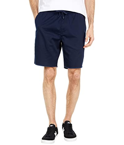 RVCA Weekend Elastic Shorts 19 (Navy Marine) Men
