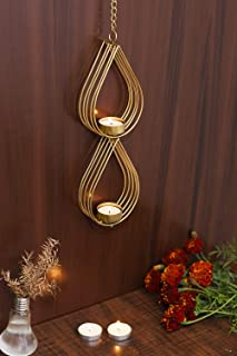CraftVatika Decorative Candle Holder Wall Sconce Tea Light Wall Hanging Mounted for Living Room Home Decorations,Weddings,...