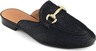 Uterque Women Raffia Mule Loafers 5049/051