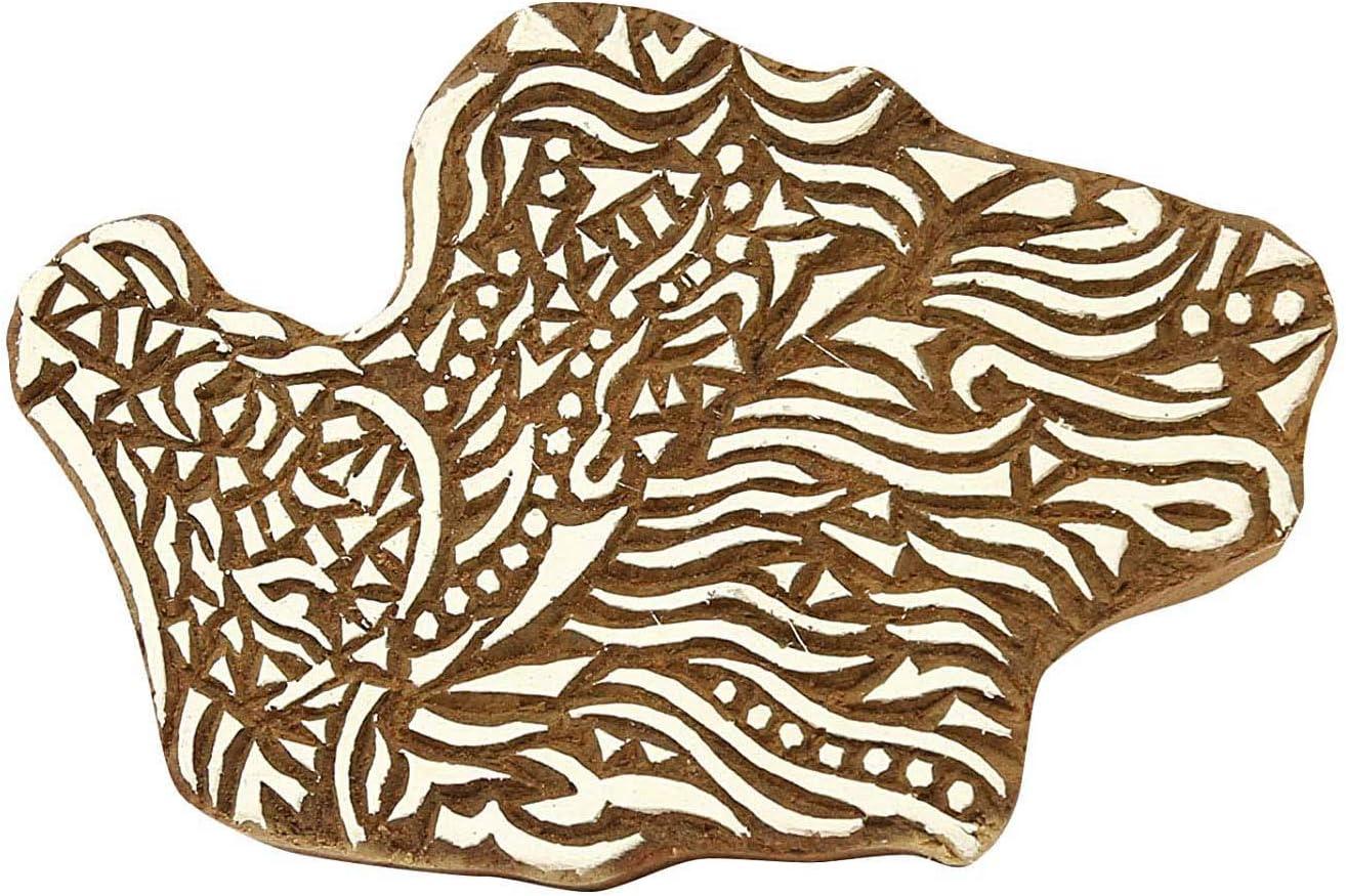 Factory outlet Sharvgun Wooden Popular brand Printing Blocks Indian Textile Borde Carved Hand