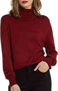 Best wine red knit sweater Reviews