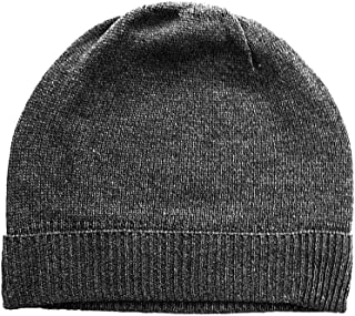 Feeling Pampered Gray Pure 100% Cashmere Beanie Hat Unisex
