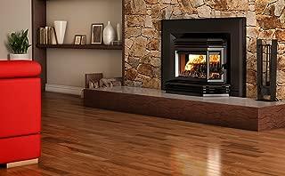 Osburn 2200 Wood Insert Black Door Overlay, Regular Faceplate, Trim Kit (29x44)
