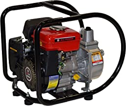 All Power America WP150 Gas Powered Semi-Trash Water Pump, 1.5 inch, Black/Red