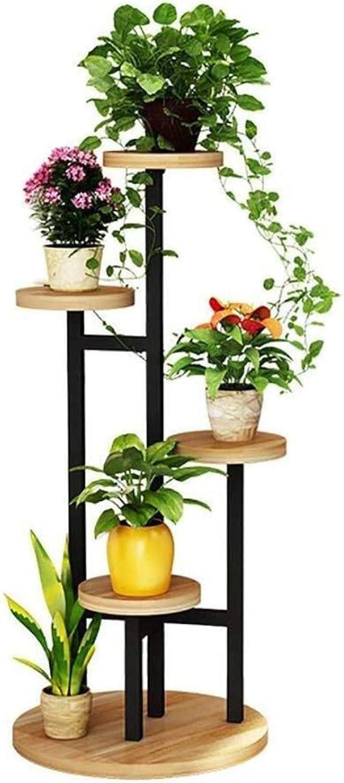 Flower Shelves,Metal Stand Wooden Mult Outlet SALE Rack Trust Tabletop