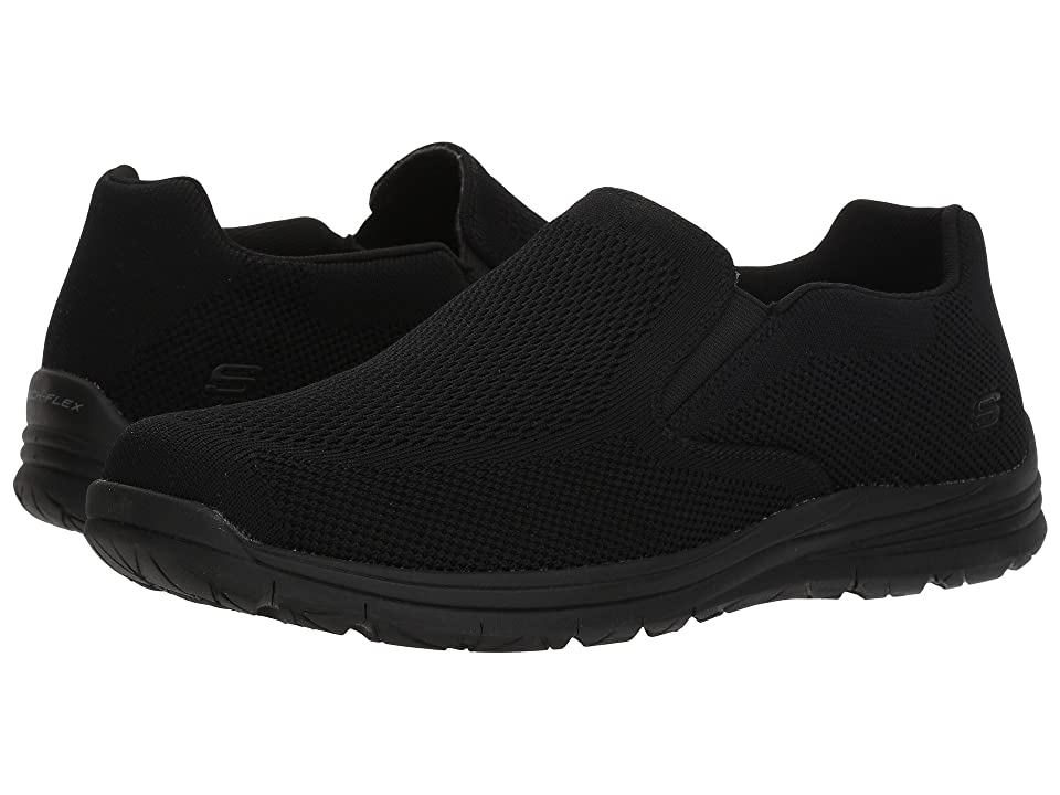 SKECHERS Classic Fit Superior 2.0 Moleno (Black) Men