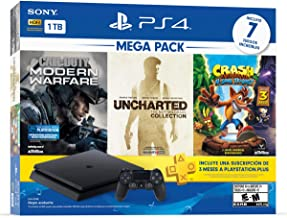 PlayStation 4 Mega Pack de 1TB con juegos Uncharted