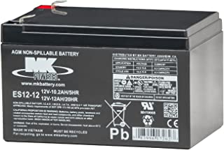 MK Battery ES12-12 Maintenance-Free Rechargeable Sealed Lead-Acid Battery