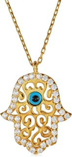 Alwan (Plated) Necklace for Luck for Women - EE2597NR