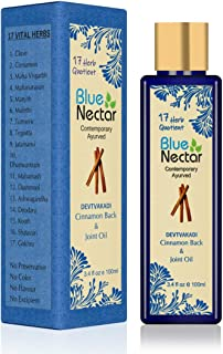 Blue Nectar Ayurvedic Pain Relief Oil for Body, Back, Knee and Legs, 100ml
