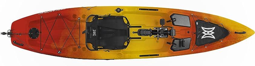 Perception Pescador Pilot 12   Sit on Top Fishing Kayak   Pedal Drive   Multi-Water Angler Kayak   12'