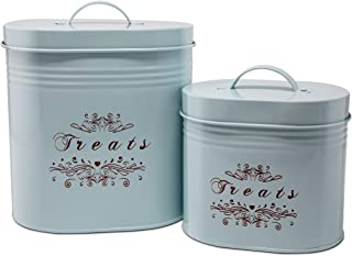 One for Pets Treat Canister Set – Pet Treats Jar Set