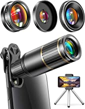 CoPedvic Phone Camera Lens Phone Lens for iPhone Samsung Pixel Android, 22X Telephoto..