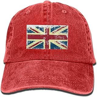 Adjustable Baseball Caps British Flag Cowboy Style Trucker Cap