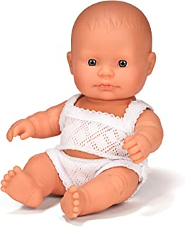 Anatomically Correct Baby Doll 21cm Caucasian Girl