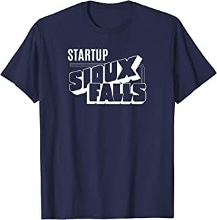 Startup Sioux Falls T-Shirt - white ink