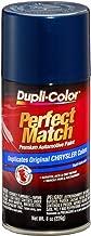 Dupli-Color EBCC04097 Patriot Blue Metallic Chrysler Perfect Match Automotive Paint - 8 oz. Aerosol