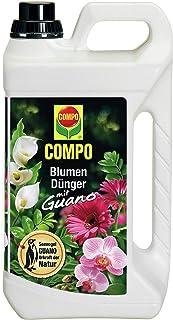 COMPO Blumendünger mit Guano für alle Zimmer-, Balkon- und Terrassenpflanzen,..