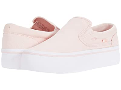 DC Trase Slip-On Platform (Light Pink) Women
