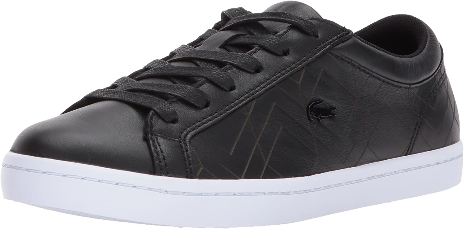 Lacoste Womens Straightset Lace 417 1 Sneakers Sneaker