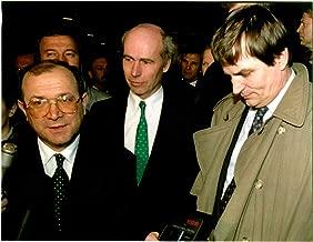 Vintage photo of Mate Granic, Charles Redman and Haris Silajdzic.