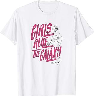 Star Wars Princess Leia Girls Rule The Galaxy T-Shirt