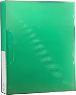 Pioneer Photo Albums CF-2 72-Pocket Poly Cover Space Saver Photo Album, Green