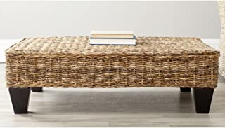 Safavieh Home Collection Leary Wicker Bench, Natural