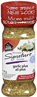Club House, Quality Natural Herbs & Spices, Signature Blend, Garlic Plus, 141g