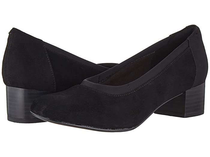 Clarks  Chartli Fame (Black Suede) Womens  Shoes