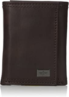 Men's Rfid Security Blocking Extra Capacity Trifold Wallet