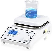 """Parco Scientific P1007-HS Digital Hotplate Magnetic Stirrer w/Ambient - 380°C Temperature Range, 6.5"""" x 6.5"""" Ceramic Coate..."""