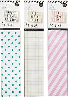 Heidi Swapp - Lightbox Backgrounds Set - Stripes, Dots & Grids - 3 Item Set - 18 Background Inserts