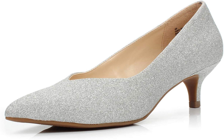 FOOTSELF Brink Popularity Women's Elegant Comfortable Pum Dress All items free shipping Heel Kitten