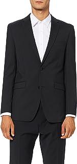 Esprit Men's Tiny Checkered Blazer