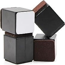 5,2 cm meubelverhoging van koolstofstaal, 4 cm breed, 4 cm lengte, zelfklevende meubelverhoging, bedverhoging, bed riser, ...